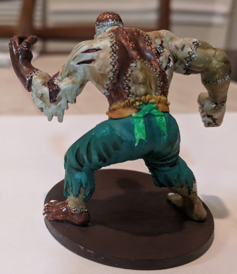 Flesh Golem Rear